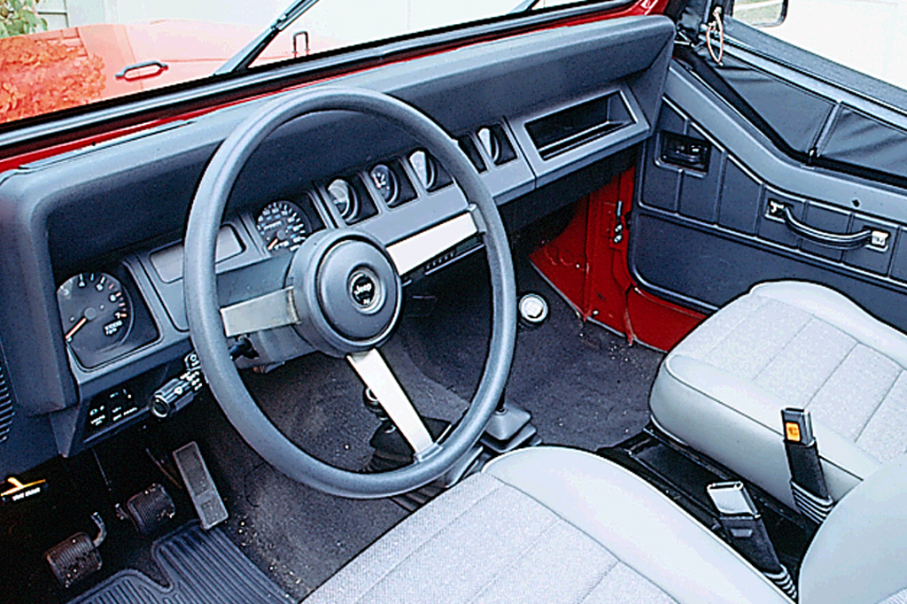 1990 95 Jeep Wrangler on geo tracker interior