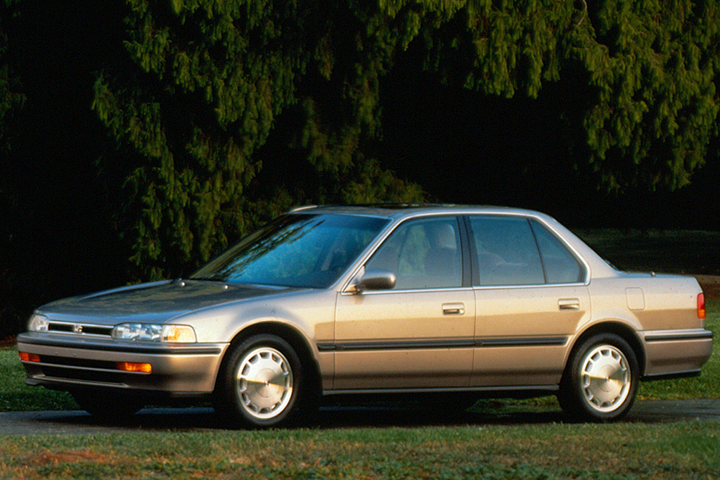 1992 honda accord sedan weight