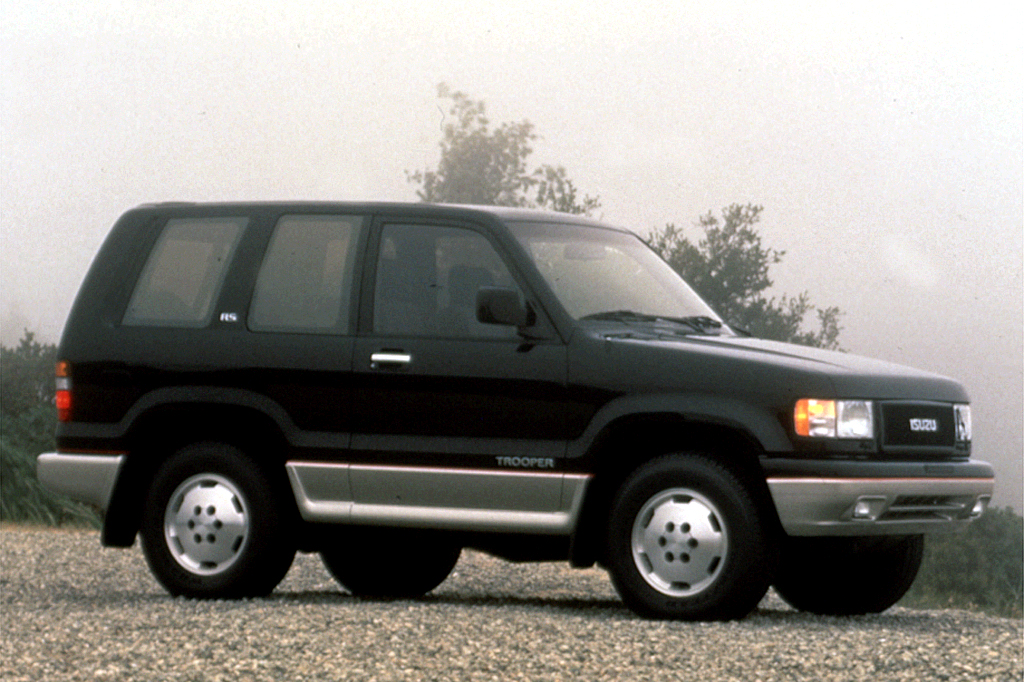 1992 02 Isuzu Trooper Consumer Guide Auto
