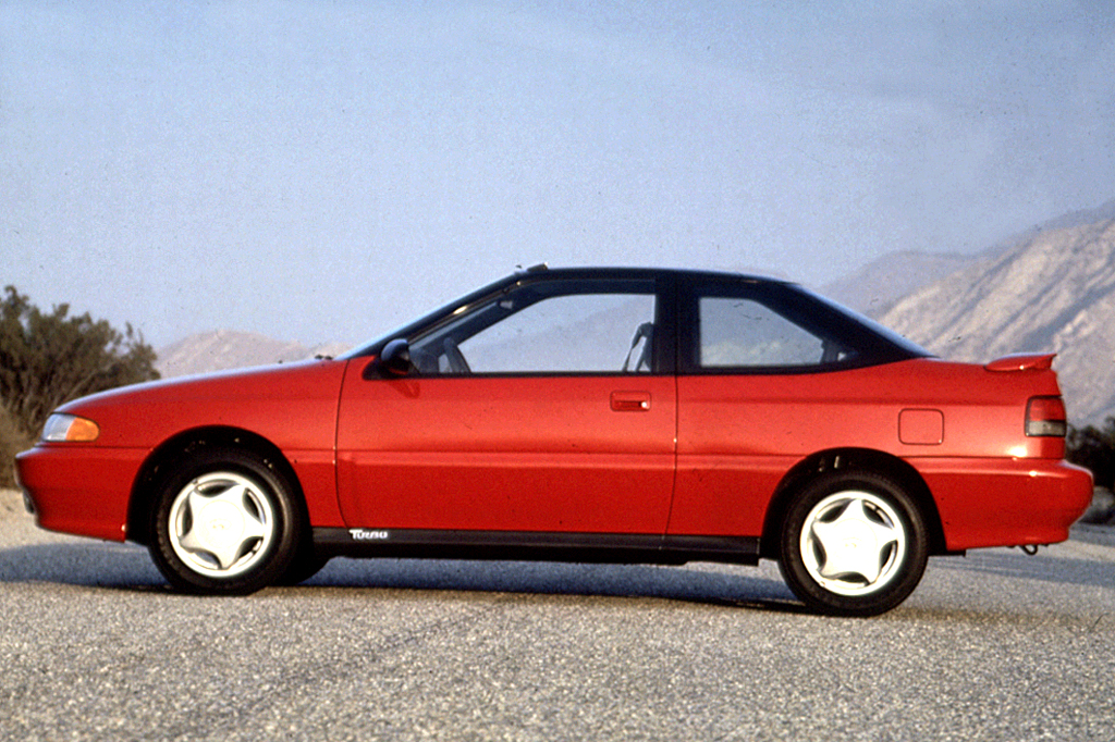 on 1992 Hyundai Excel