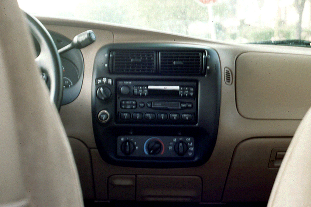 on 1995 Dodge Dakota Sport Interior