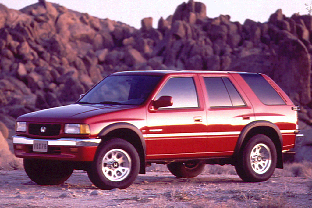199497 Honda Passport  Consumer Guide Auto
