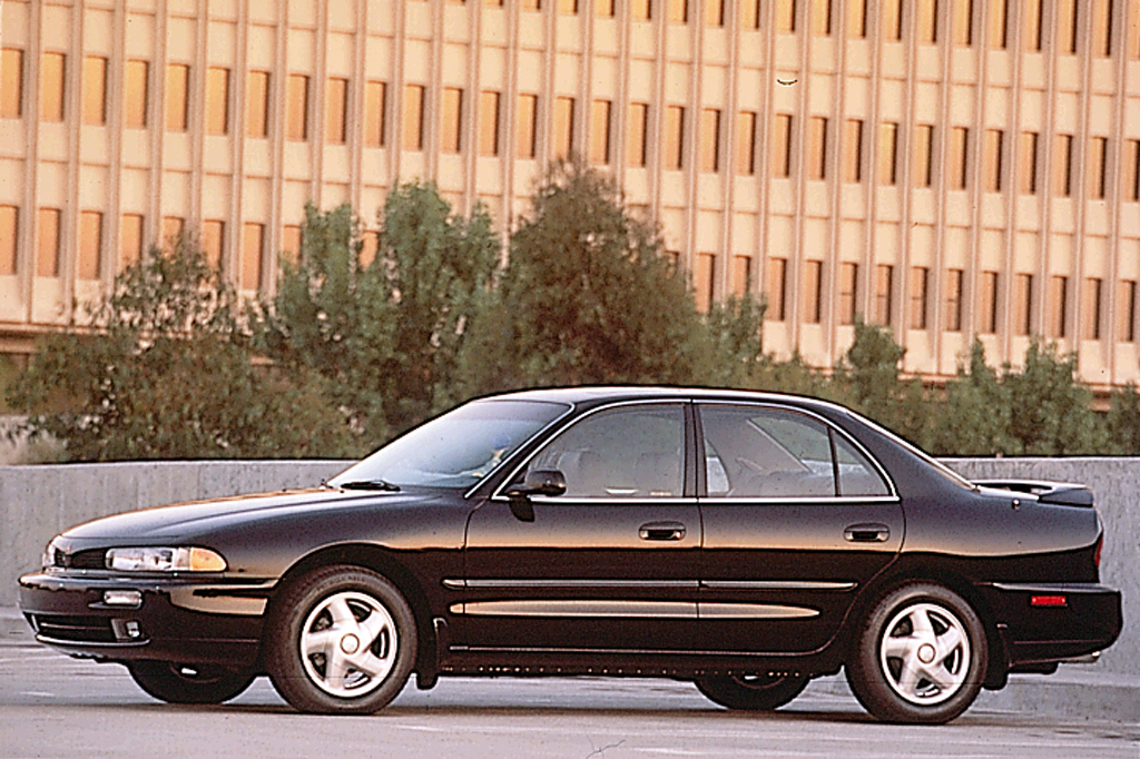 on 1995 Mitsubishi Galant
