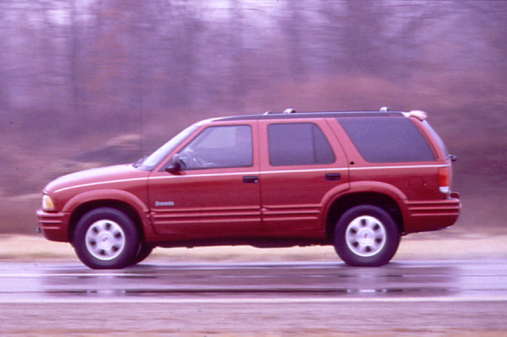 96 Oldsmobile Bravada Repair Manual
