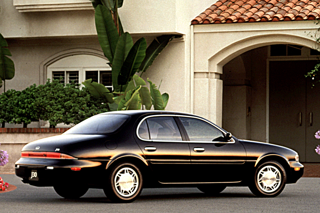 Car With Road >> 1993-97 Infiniti J30 | Consumer Guide Auto
