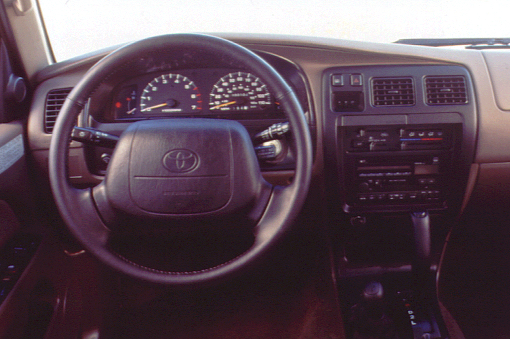 1996 Toyota 4Runner Interior