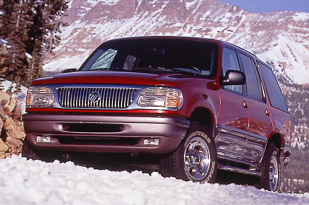 Ford Explorer 1998 >> 1997-01 Mercury Mountaineer | Consumer Guide Auto