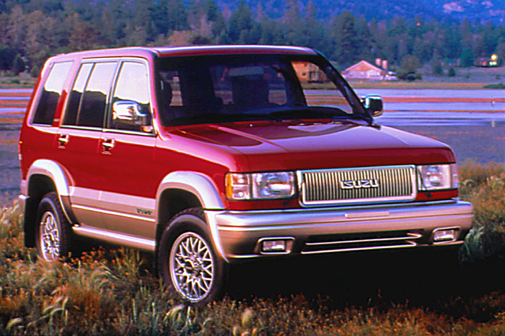 Used 2014 Jeep Grand Cherokee >> 1992-02 Isuzu Trooper | Consumer Guide Auto