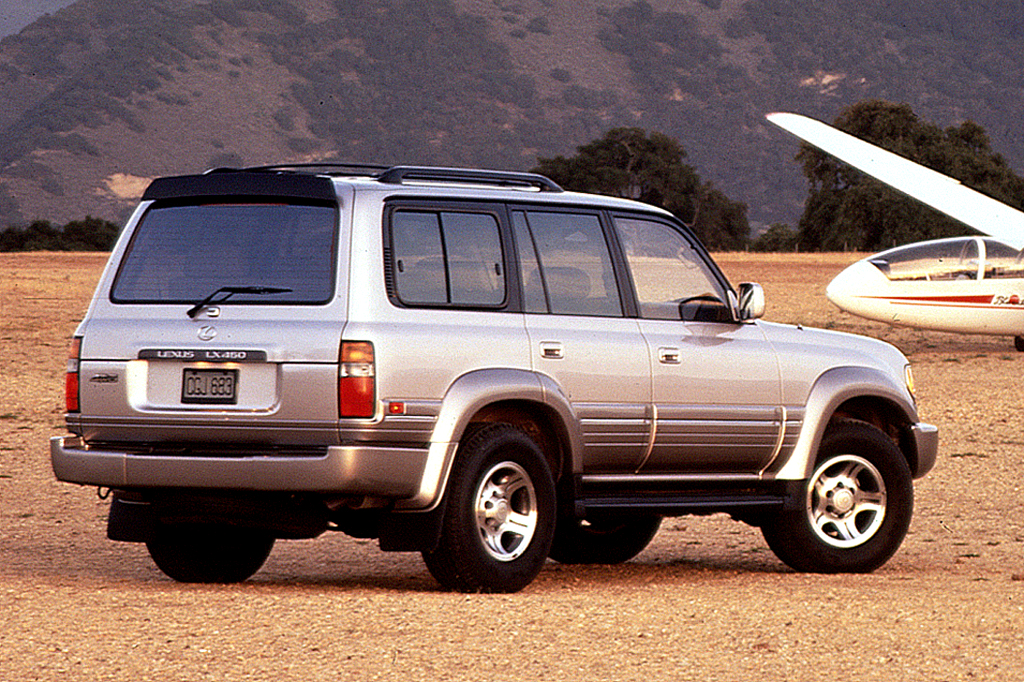 Toyota Certified Pre-Owned >> 1996-97 Lexus LX 450 | Consumer Guide Auto