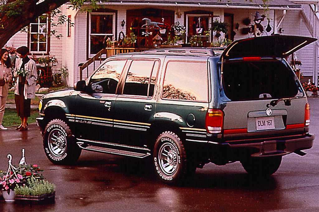 1997 01 Mercury Mountaineer Consumer Guide Auto