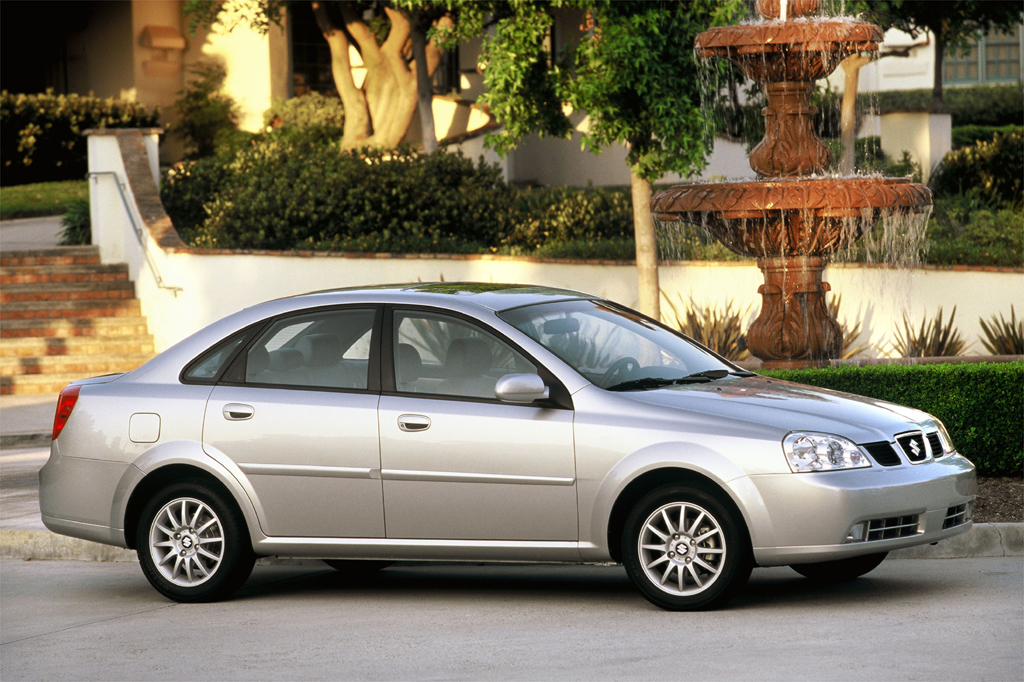 Suzuki Forenza Safety Ratings