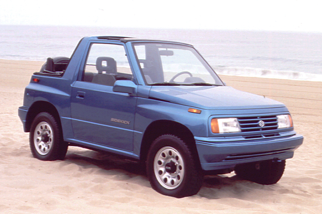 1992 Suzuki Sidekick 2 Door Convertible