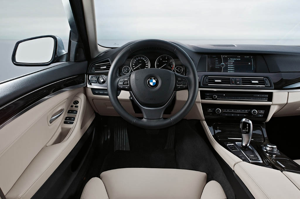 2011 BMW 5 Series Interior