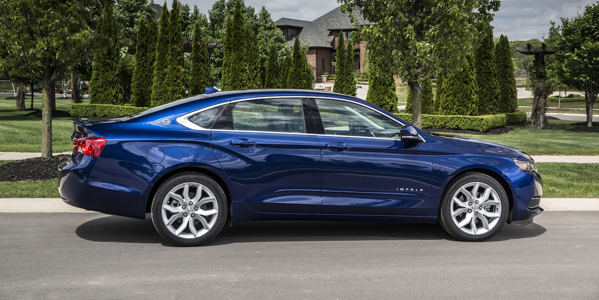 2017 Chevrolet Impala Best Buy Review | Consumer Guide Auto