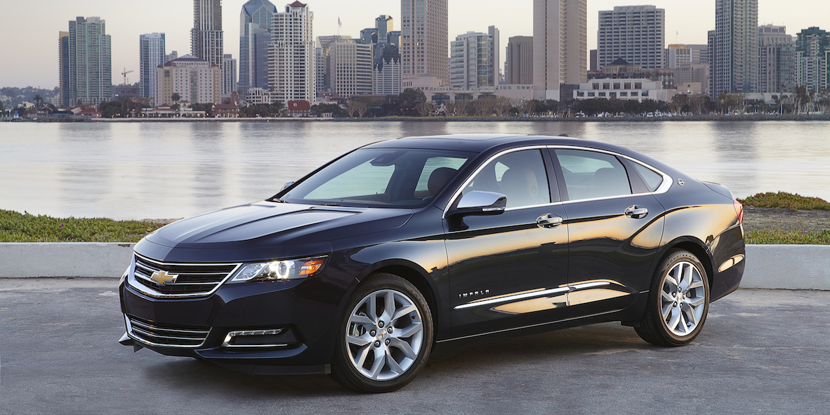 Perfect 2017 Chevrolet Impala Best Buy Review  Consumer Guide Auto