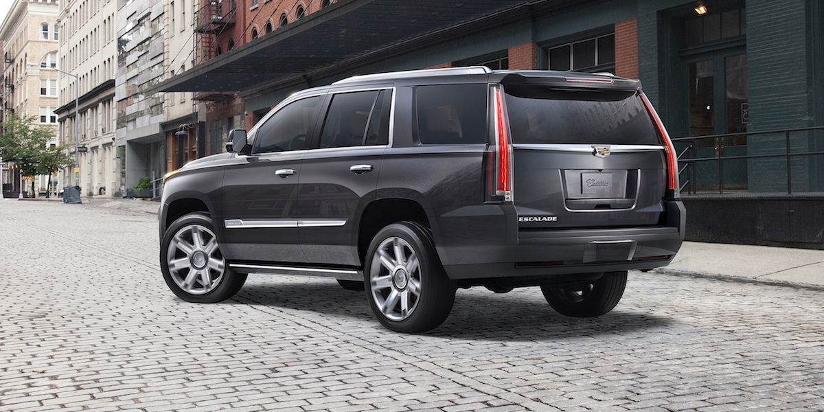 2017 Cadillac Escalade Best Buy Review Consumer Guide Auto
