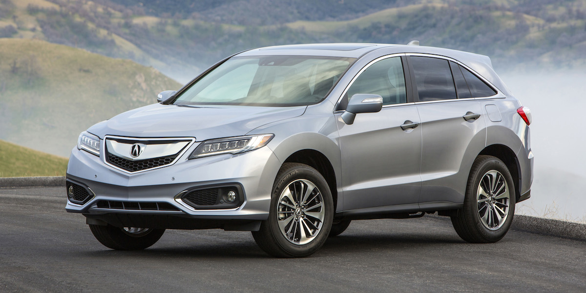 2017 Acura RDX Best Buy