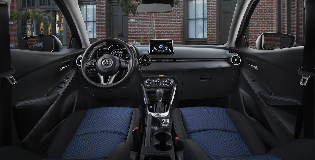 2017 toyota yaris ia best buy review consumer guide auto. Black Bedroom Furniture Sets. Home Design Ideas