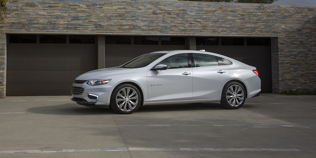 2017 Chevrolet Malibu Best Buy Review | Consumer Guide Auto