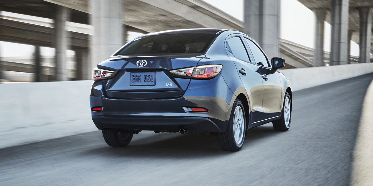 2018 Toyota Yaris Ia Best Buy Review Consumer Guide Auto