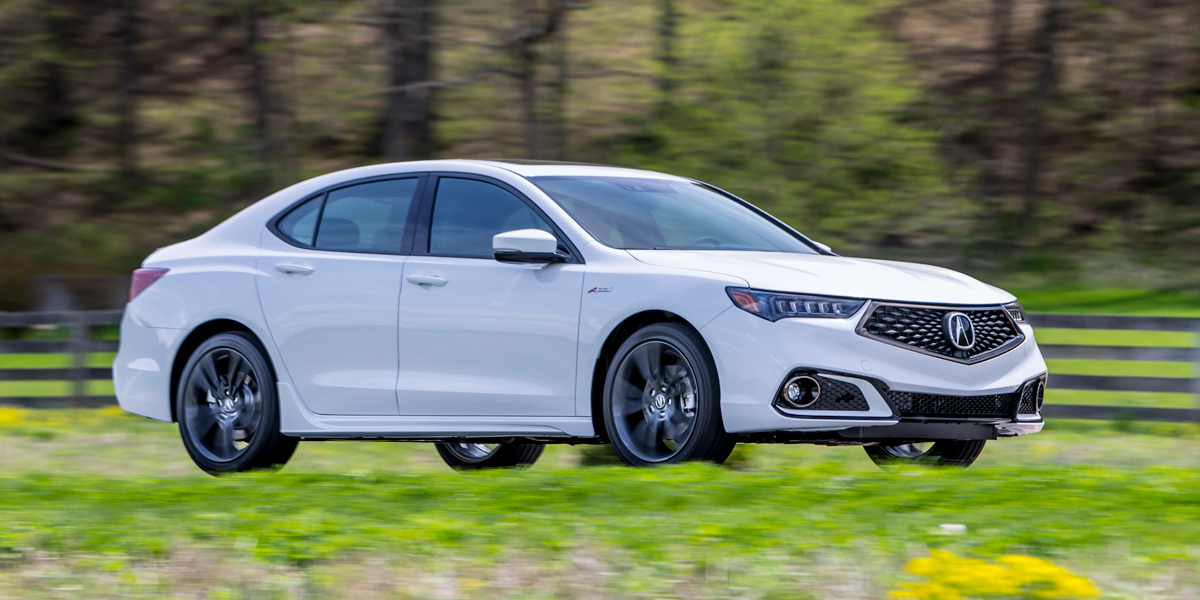 Acura TLX Best Buy Review Consumer Guide Auto - 2018 acura tl 19 inch wheels