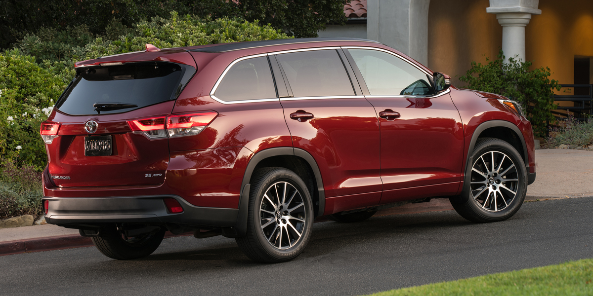 2018 Toyota Highlander Best Buy Review Consumer Guide Auto