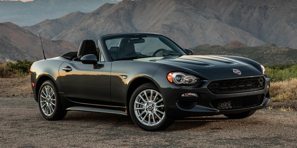 2018 Fiat 124 Spider Best Buy Review Consumer Guide Auto