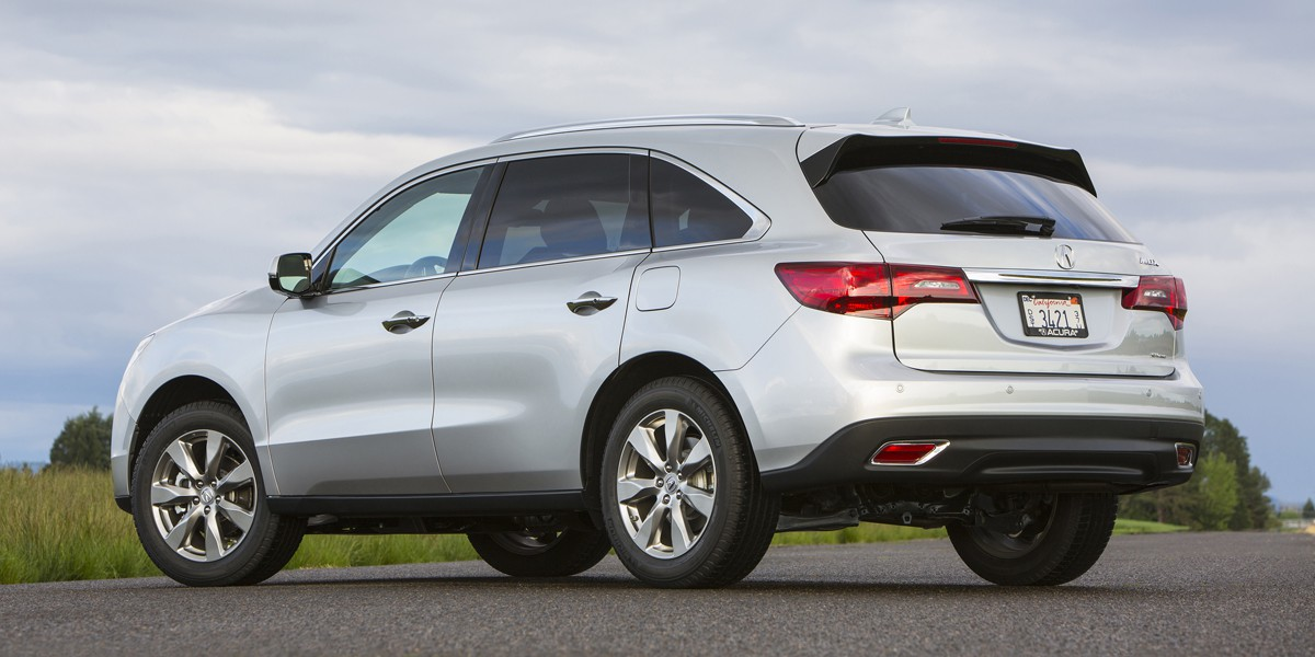 Acura MDX Review Consumer Guide Auto - Acura mdx review 2014