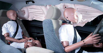 Honda Unveils Side Curtain Airbag Technology