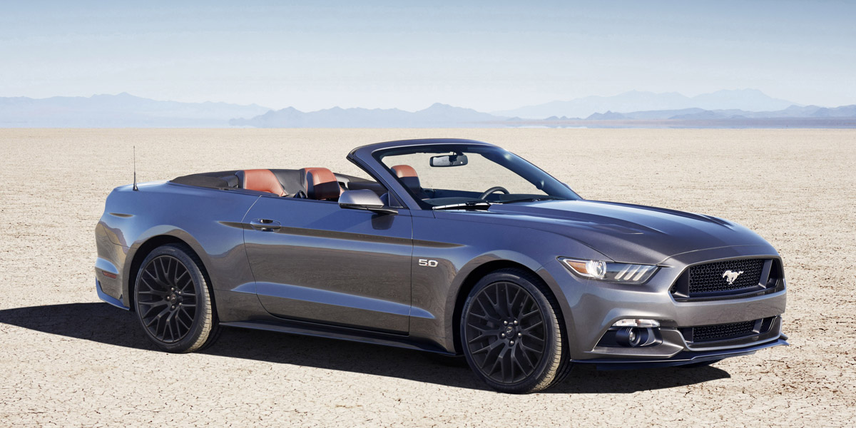 2016 Ford Mustang Gt Convertible 2017