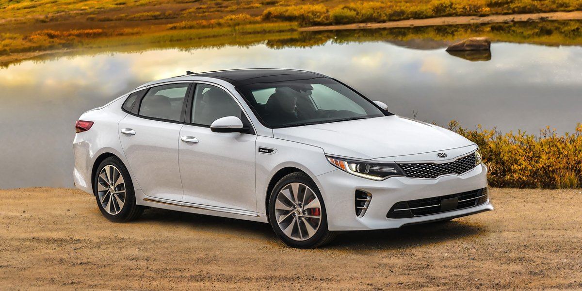 2016 Optima Sxl 2 0 Turbo 2017 Kia