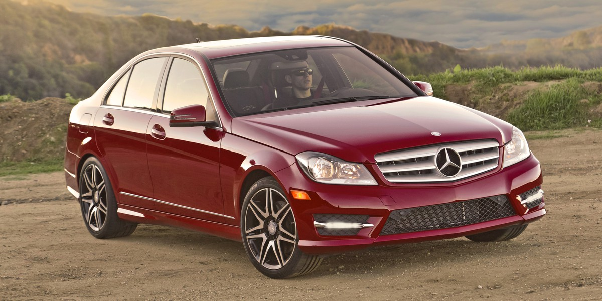 2013 Mercedes-Benz C350 Sedan with Sport Package Plus