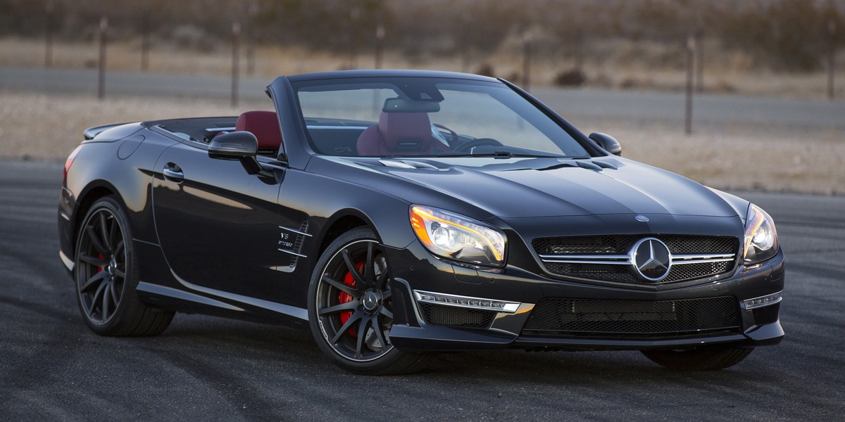 MY2013 SL63 AMG (Obsidian Black with red seats)