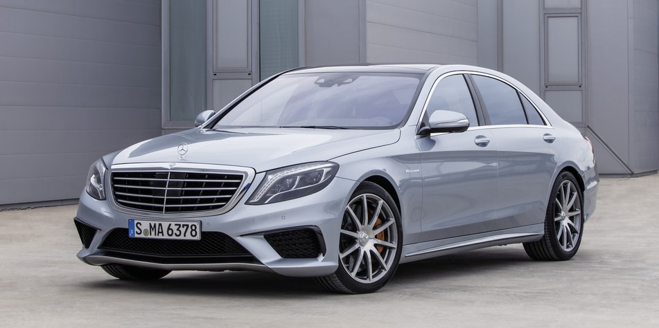 2017 Mercedes Benz S63 Amg 4matic