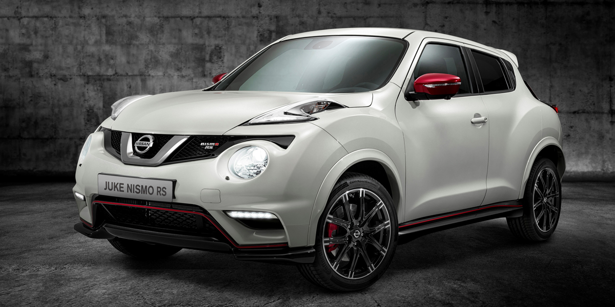 2015 Nissan JUKE NISMO RS (European specification shown)