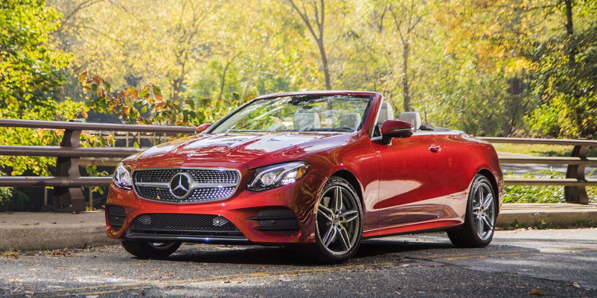 2018 Mercedes-Benz E400 4MATIC Cabrio