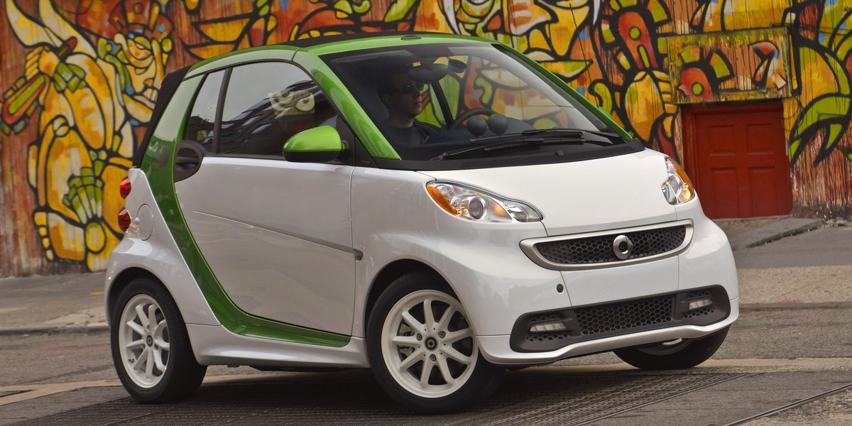 All-new smart fortwo electric drive