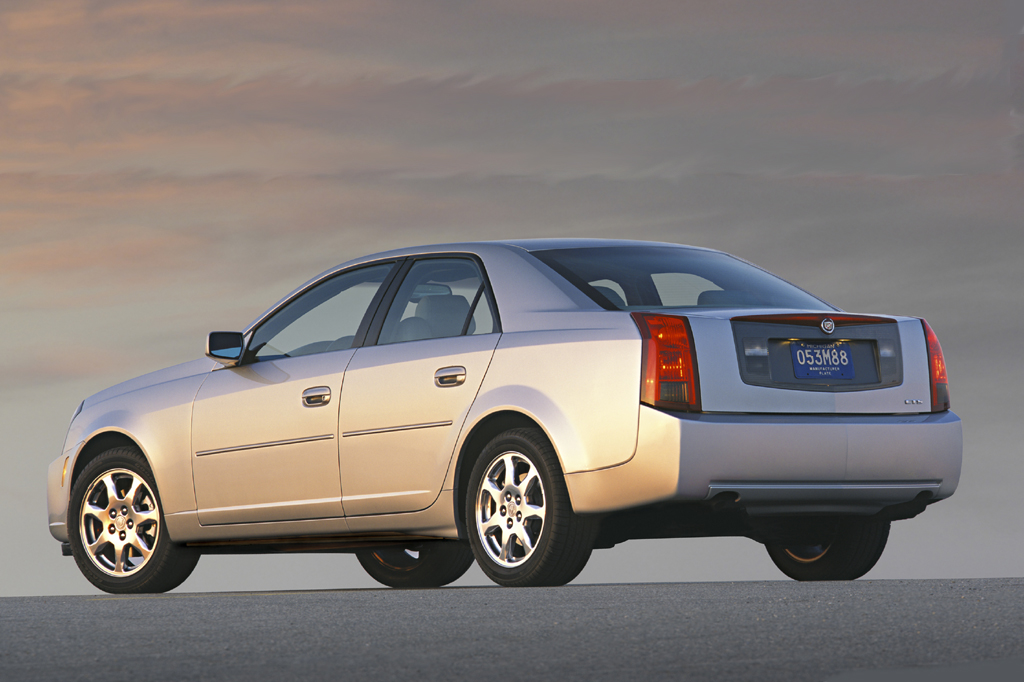 Cadillac Cts V Used >> 2003-07 Cadillac CTS | Consumer Guide Auto
