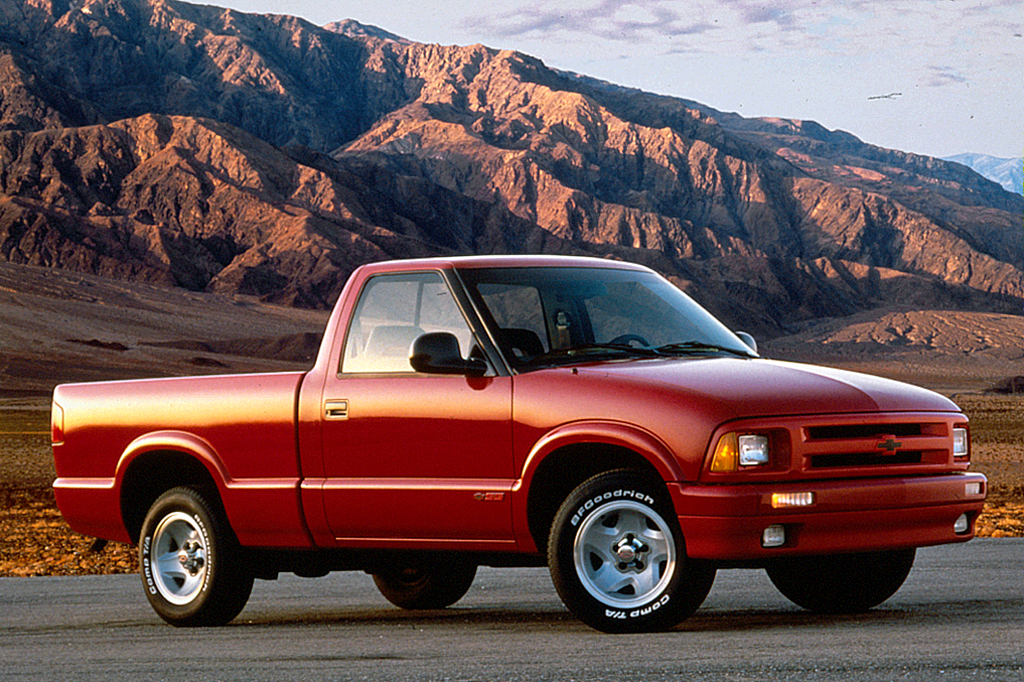 on 2001 Chevy S10 Regular Cab