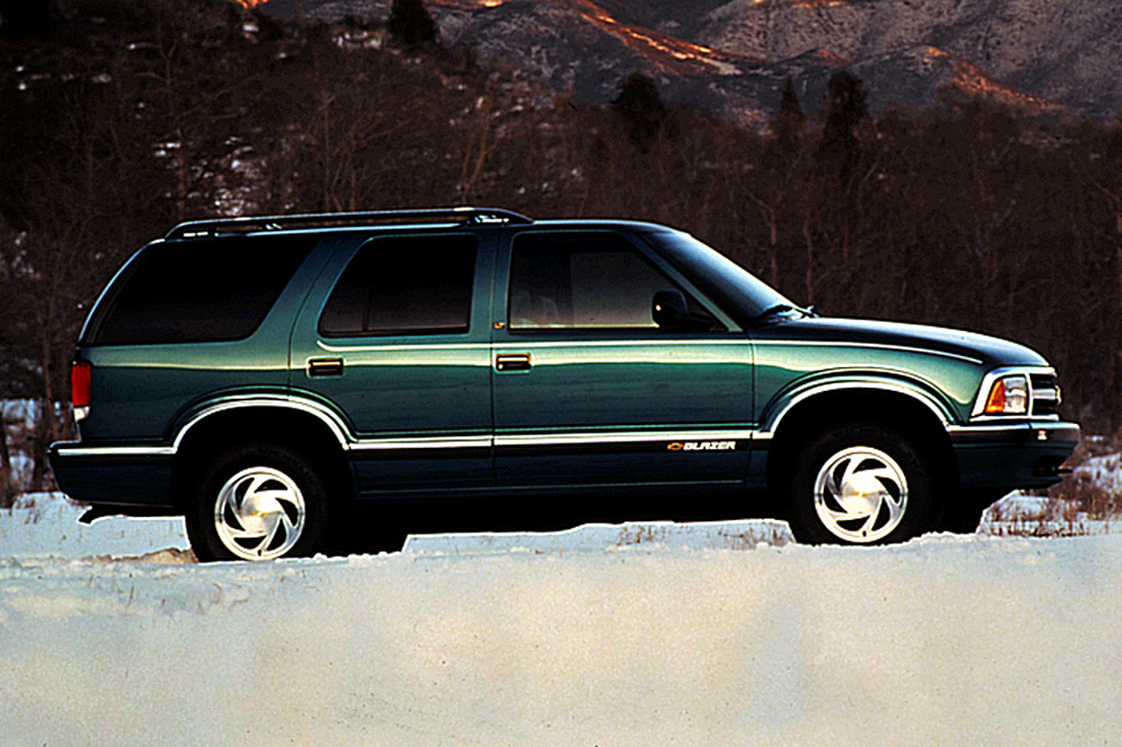 96 chevy blazer owners manual