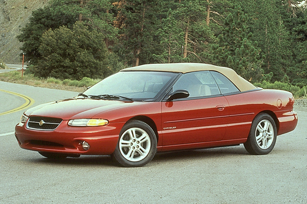 1997 Chrysler Sebring Jxi 2 Door Convertible
