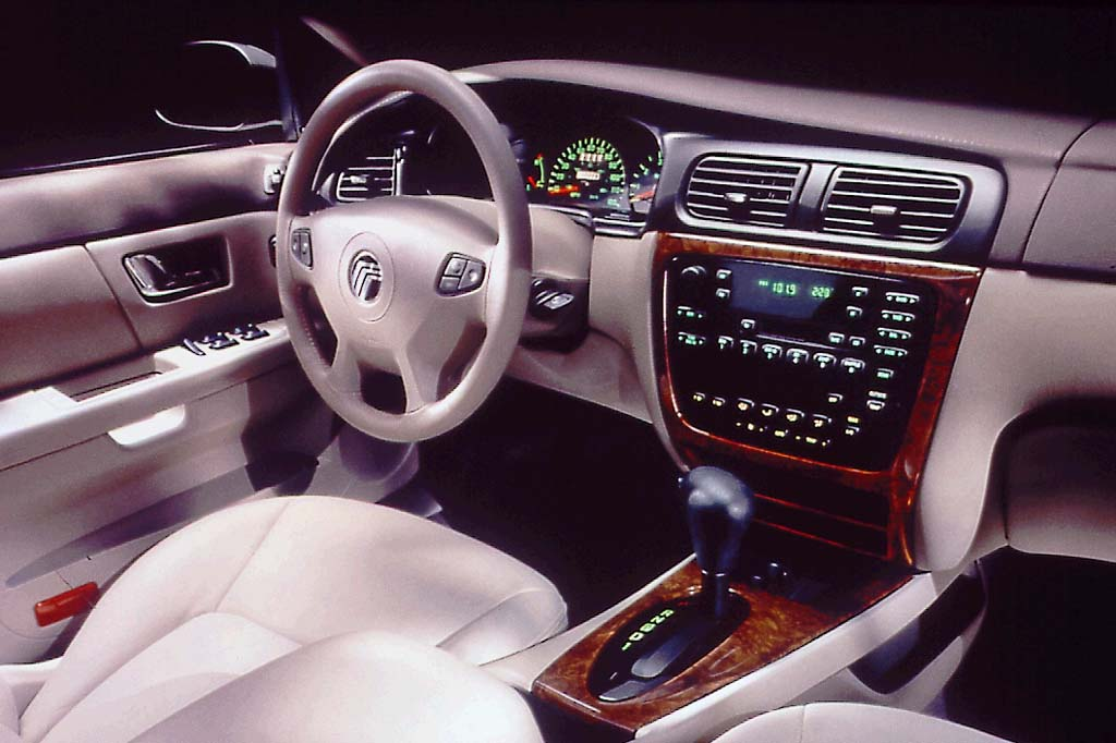 2000 mercury sable interior