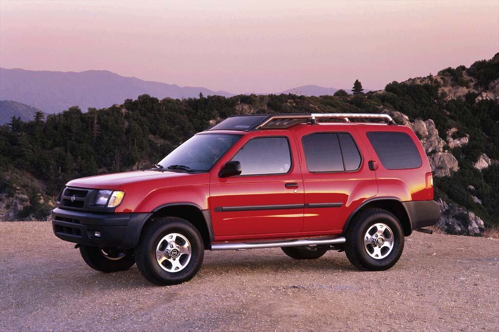 on 2000 Nissan Xterra Xe