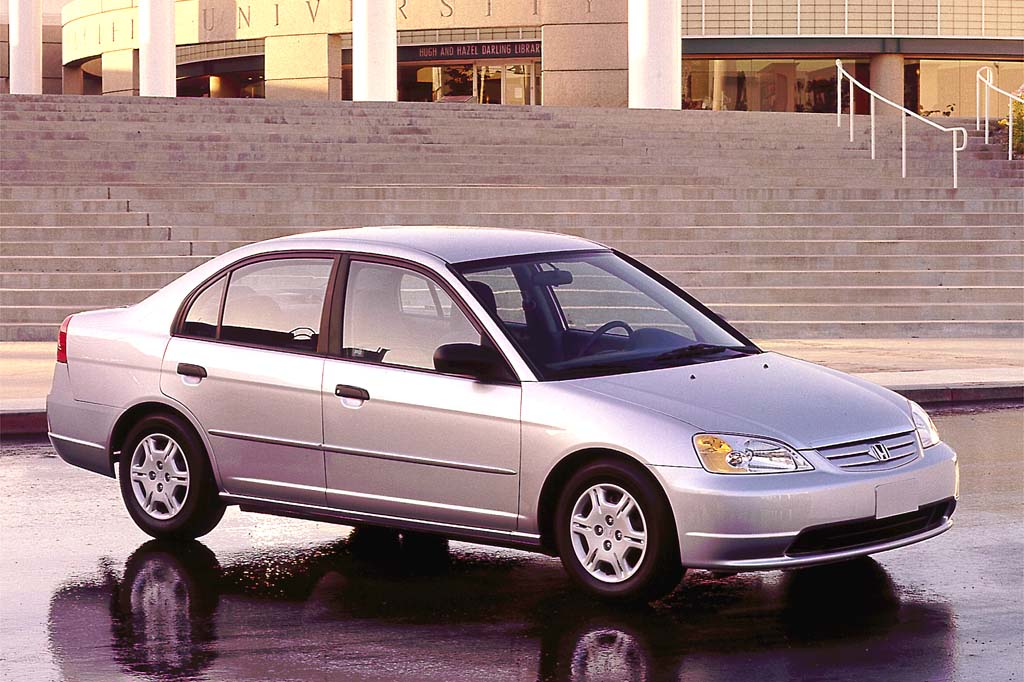2001 05 honda civic consumer guide auto for Honda car repair