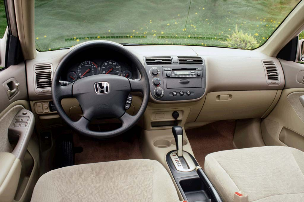 2001 Honda Civic Interior