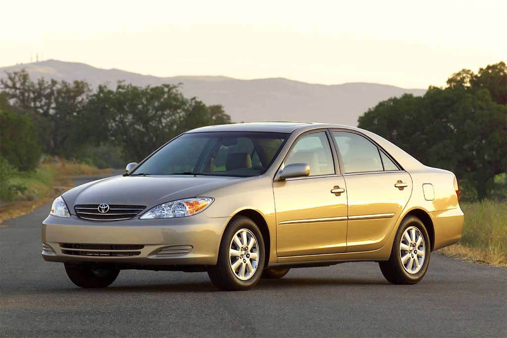 2002 toyota camry xle engine
