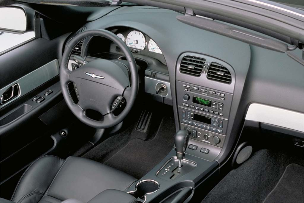 2003 Ford Thunderbird Interior