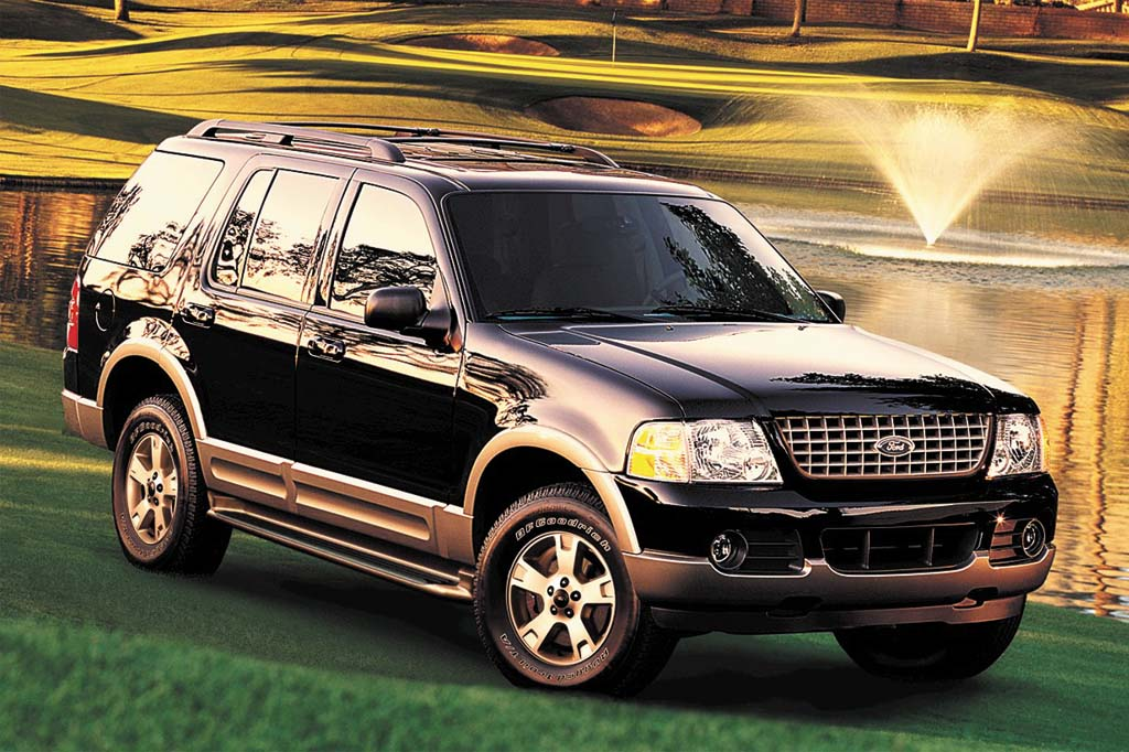 2002 05 Ford Explorer Consumer Guide Auto