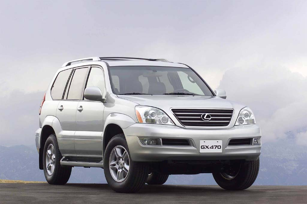 2007 lexus gx470 towing capacity