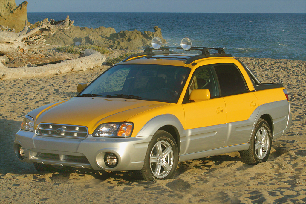 Best Car Warranty >> 2003-06 Subaru Baja | Consumer Guide Auto